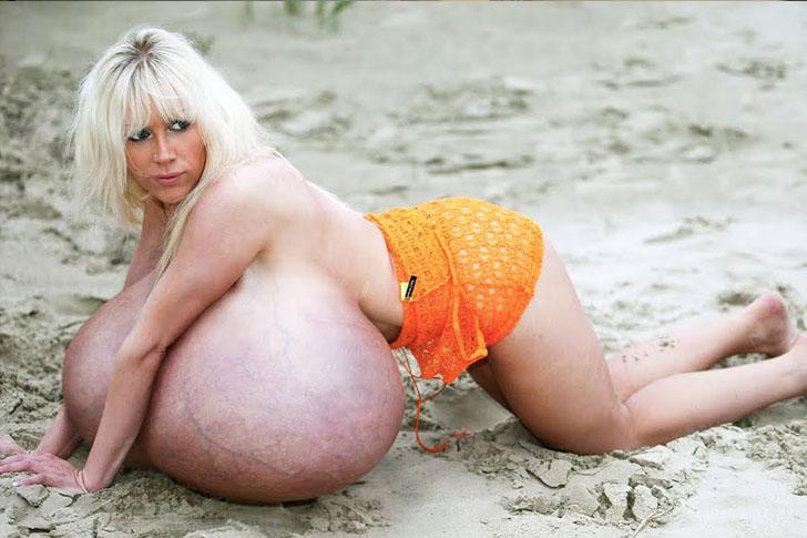 Worlds largest human bra 7